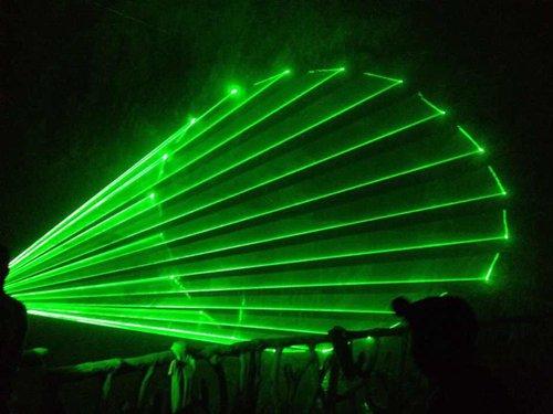 江西宜昌溶洞单绿激光 1