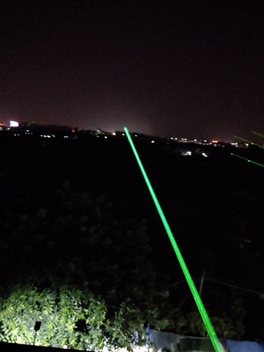 河北沧州单绿地标激光