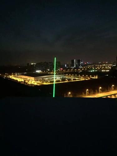 新疆阿勒泰单绿地标激光