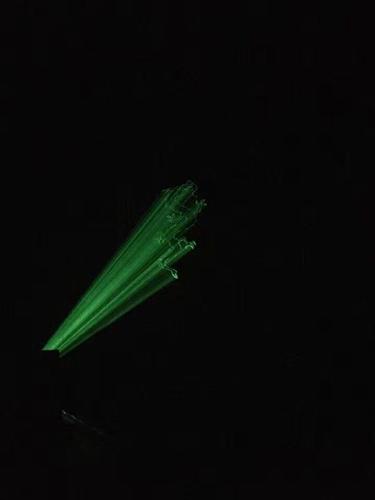 湖北恩施单绿山体激光