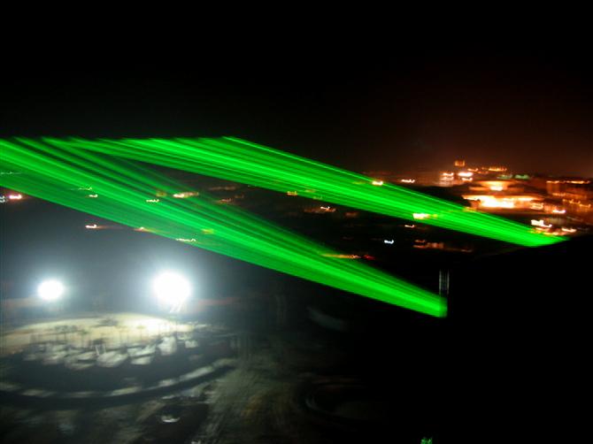 湖北宜昌单绿景观激光