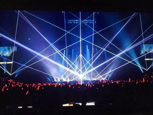 上海音乐节全彩激光