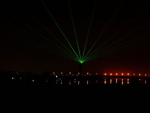 湖北十堰单绿地标激光