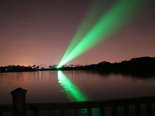 丹东单绿景观激光
