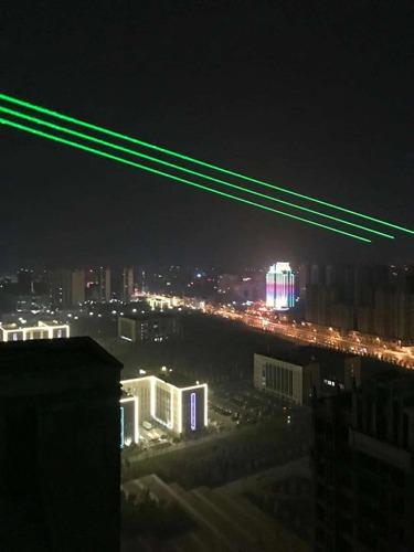 安徽桐城单绿地标激光