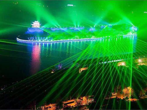 杭州峰会景观激光