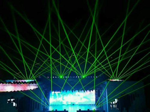 昆明6台舞台单绿激光