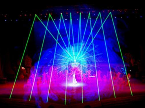 上海东方大剧院激光系统工程