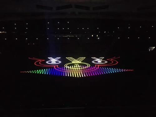 南京全彩楼体激光