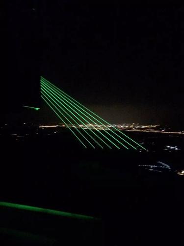 吉林万科松花湖单绿激光