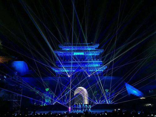 重庆8台全彩舞台激光1