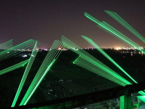 厦门航运中心4台单绿激光